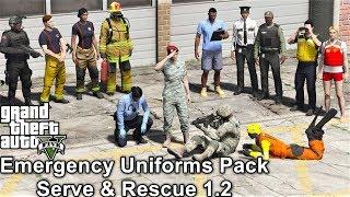 GTA 5 LSPDFR Police Mod | Emergency Uniform Pack Law & Order