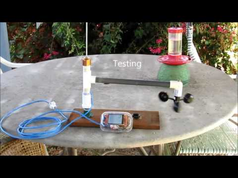 Wired Wind Vane and Anemometer