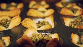 How to Make Spinach and Cheese Cups