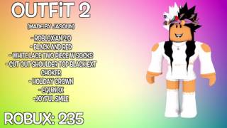 12 AWESOME ROBLOX OUTFITS 2!! | Music Jinni