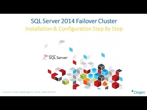SQL Server 2014 Failover Cluster Installation & Configuration Step By Step