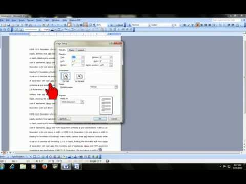 Microsoft word : how to insert different page numbers in same word doc