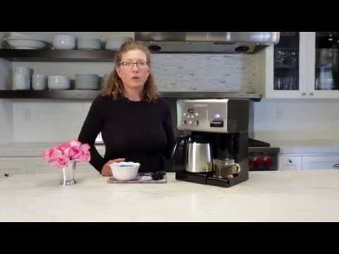 Cuisinart Coffeemaker with Hot Water System (CHW-14) Demo Video