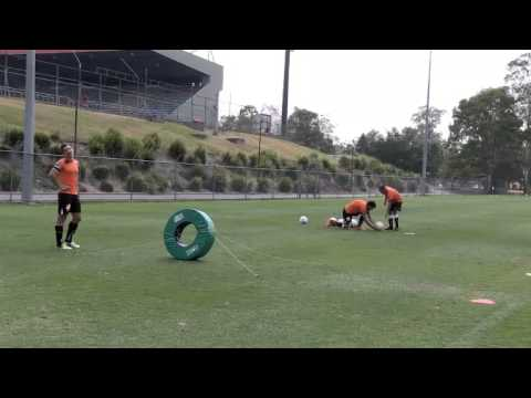 Soccer Drill Tackle Ring Challenge