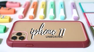 iPhone 11 pro unboxing ✨