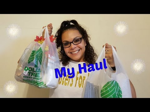 DOLLAR TREE HAUL #3 | FALL AND BEACH THEME ITEMS AUGUST 2017