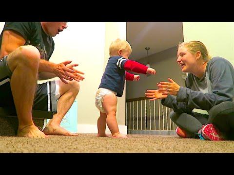 BABY WALK PRACTICE!