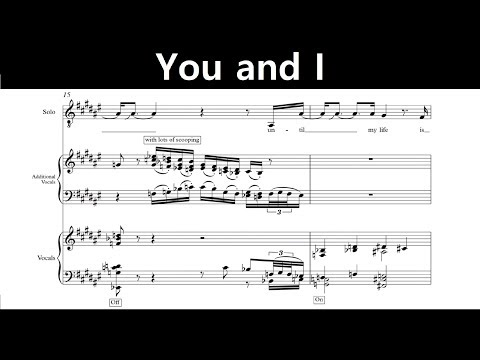 Jacob Collier - You and I (Transcription)