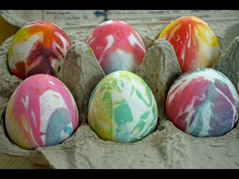 Budget101 Tie Dye Easter Eggs with just 3 Ingredients!