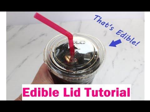 Edible Lid Tutorial
