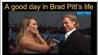 Body language: Brad Pitt
