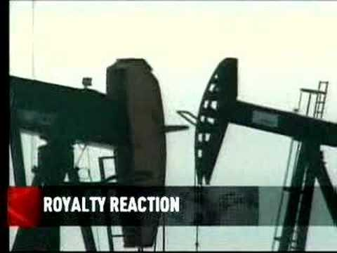 Oil royalty hike reaction