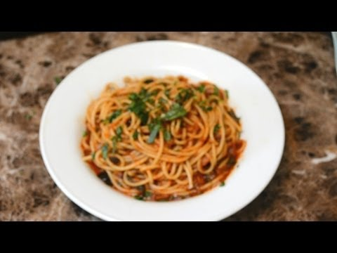 Spaghetti & marinara Sauce