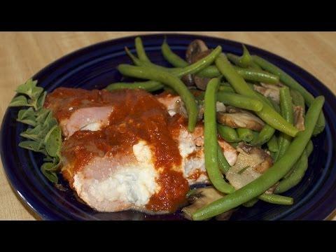 Italian Stuffed Pork Tenderloin Roll with Michael's Home Cooking