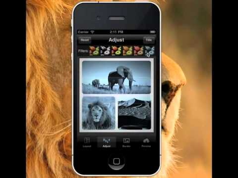 How to create great photo on iPhone with Photo Frame Maker App?