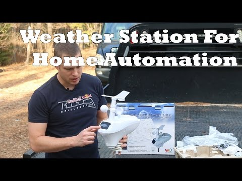 Home Automation: Weather Station for HVAC & Irrigation Control