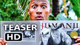 JUMANJI 2 Trailer Tease (Dwayne Johnson, Jack Black, Kevin Hart) Comedy Movie HD