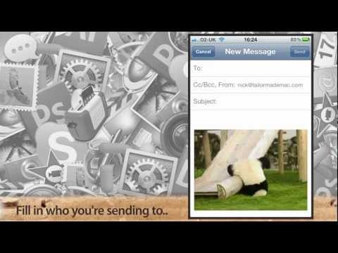 How to email multiple pictures from your iPhone