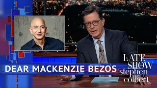 Download Stephen's Message For MacKenzie Bezos Video