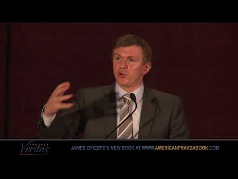 James O'Keefe Speech - American Pravda NYC Book Launch