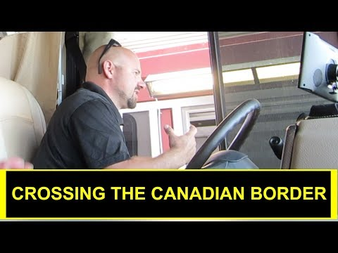 Traveling to Canada in our RV (RV Full-TIme)