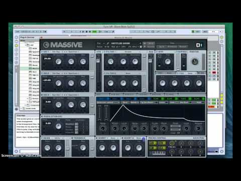 Skrillex / Knife Party / Zomboy Dubstep Synth Tutorial in Massive