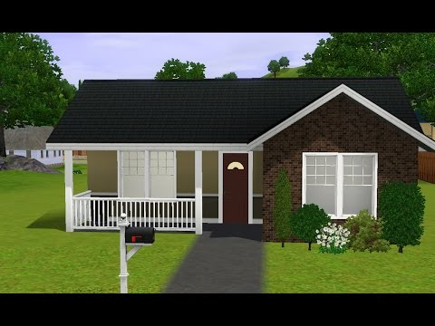 The Sims 3 House Building - Small Starter Home♡