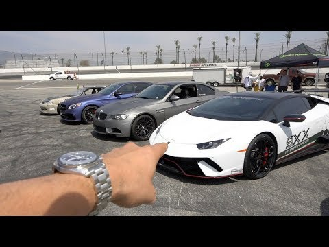 Learning How To Drift In A Lamborghini