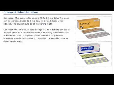 Consucon Anti Diabetic Oral hypoglycaemic