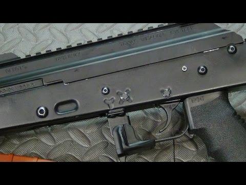 The KNS AK Non-Rotating Trigger and Hammer Pins