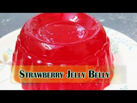STRAWBERRY JELLY BELLY II स्ट्रॉबेरी जेली बेली II  BY CHEF MANJIRI KOTHARE