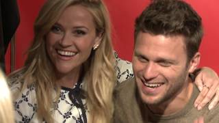 Watch Reese Witherspoon crash her co-stars