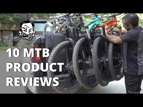 10 MTB Product Reviews - Tailgate covers to torque wrenches