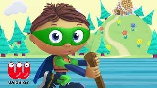 SUPER WHY | Episode, Raft Adventure | Episodes for kids