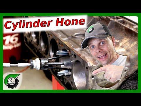 Honing Jeep Inline 6 cylinder: Rebuild Part 11