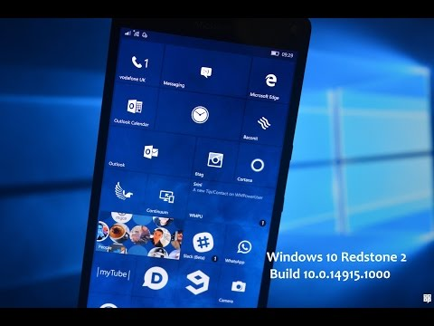 Windows 10 Redstone 2 Update build 10.0.14915.1000 | Bug Bash