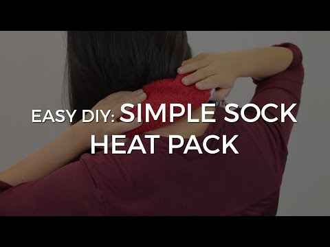EASY DIY - Make Your Own Heat Pack