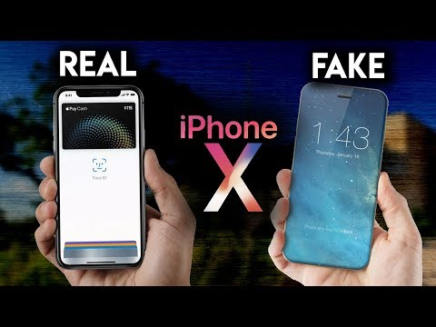 REAL iPhone X vs FAKE iPhone X (Early iPhone X vs Chinese Replica)