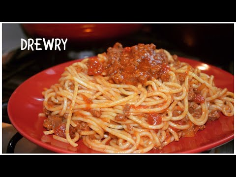 AFRICAN TOUCH PASTA BOLOGNESE