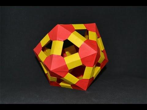 Origami: Icosahedron - Icosaedro