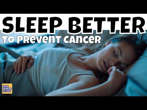 Sleep Better to PREVENT CANCER: Eating These Rich Melanin Foods for Better Sleep & PREVENTING CANCER