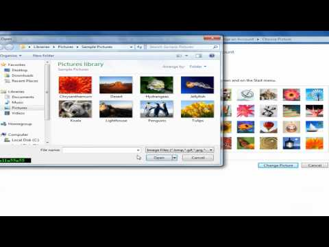 How to Change Account Picture in Windows 7