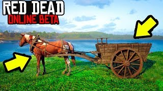 This Cart Can Make You $1000 In Red Dead Online! Easy Money Making In Red Dead Online!