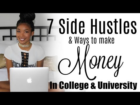 7 Ways to Make Money in College/University | Brittany Daniel
