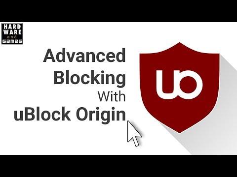 Advanced Blocking with uBlock Origin