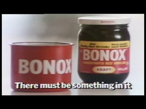 BONOX - FOOD DRINK, CLASSIC TV COMMERCIAL