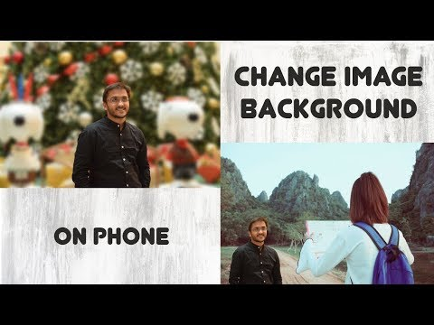 How to change Image Background on phone