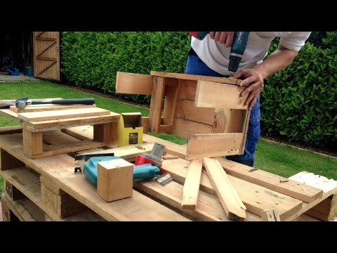 Pallet Furniture Quick & Easy