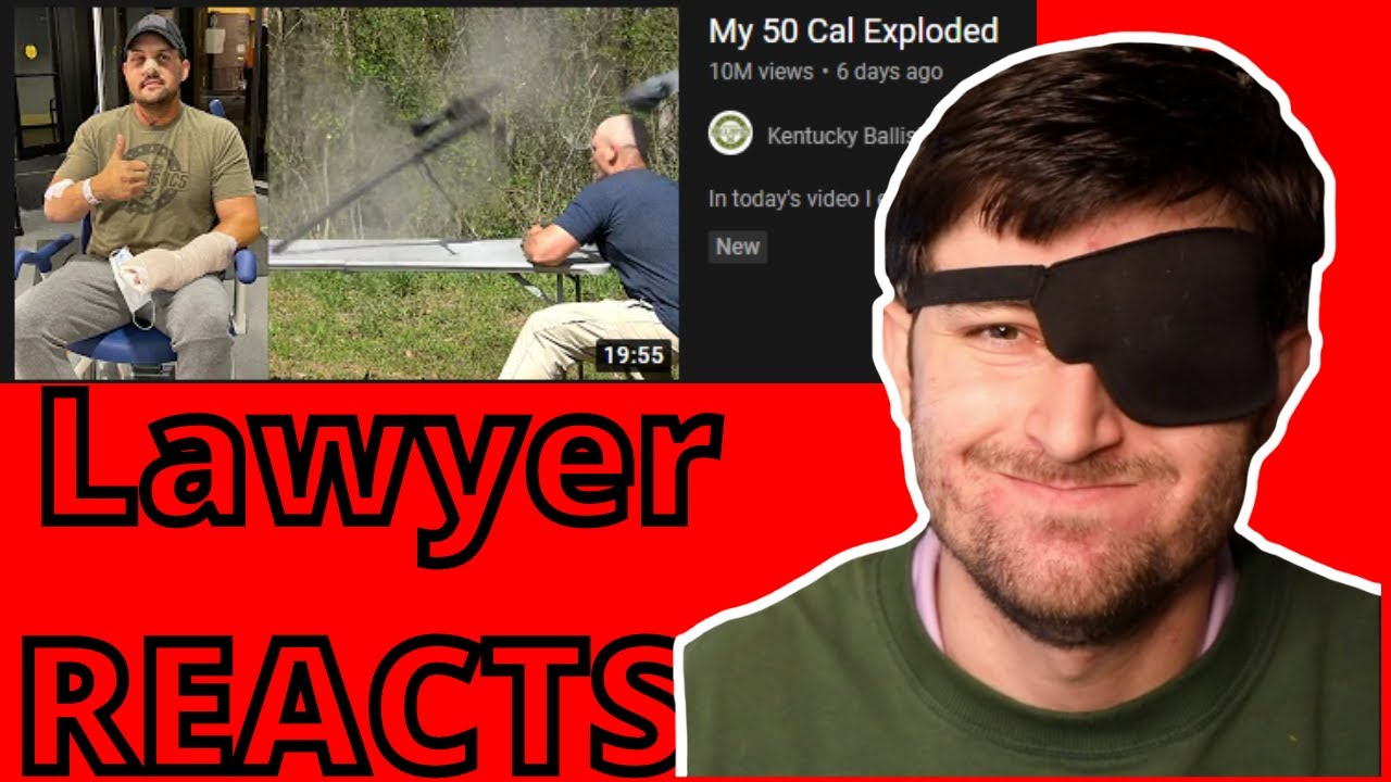 """Lawyer Reacts to """"My 50 Cal Exploded"""""""