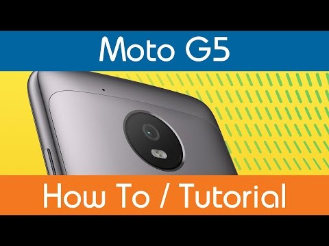 How To Set Moto G5 PIN Lock
